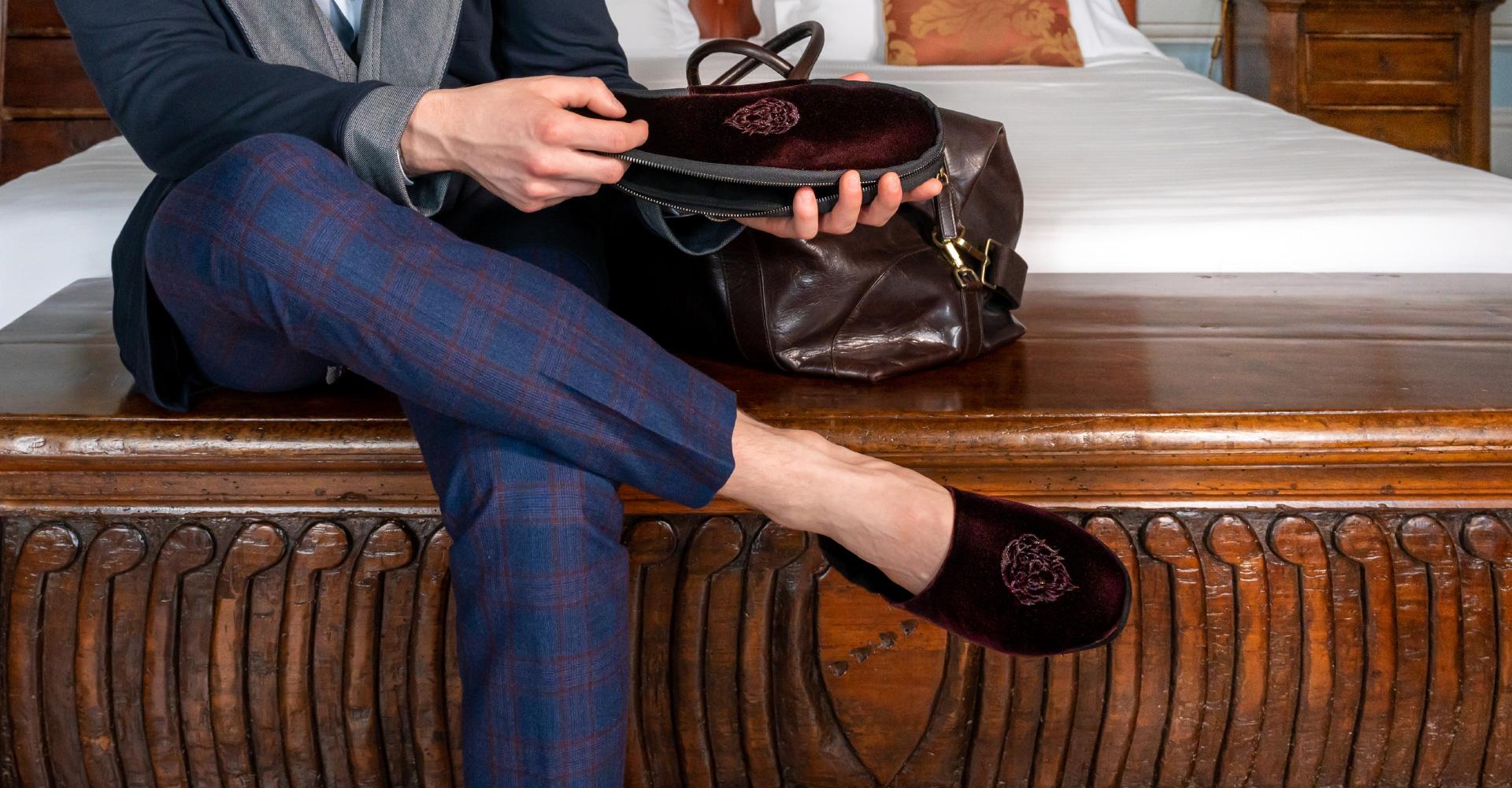 Nuova collezione da viaggio - Farfalla italian slippers